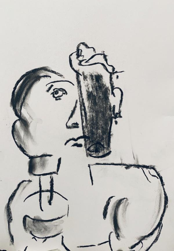 试着把一个男人变成鼠标!由Willem Boronski.