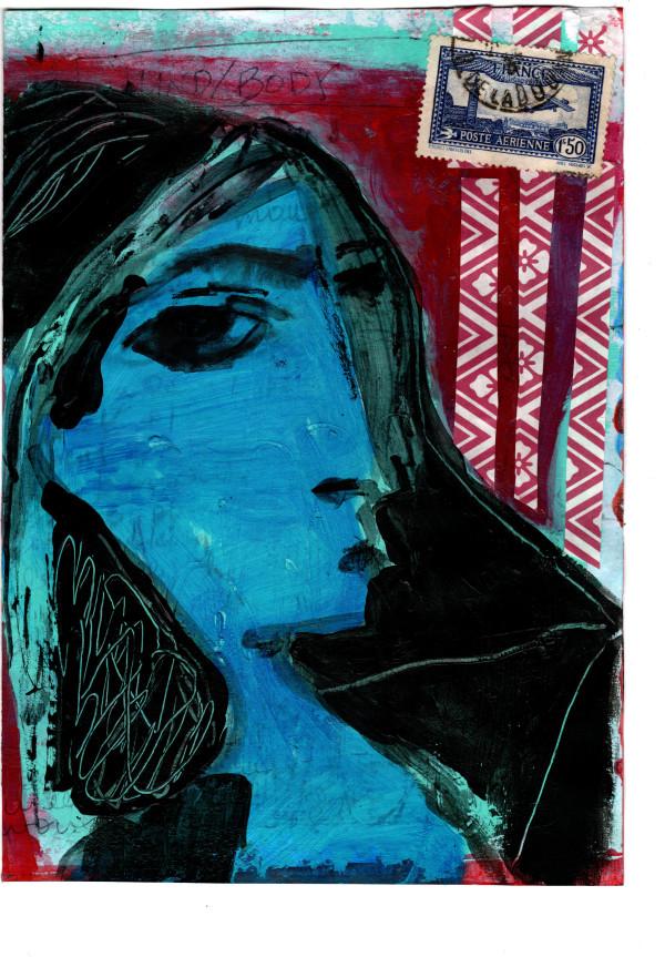 11.在毕加索的《杰奎琳》(Retrat de Jacqueline, 1957)之后,丽莎·索诺拉(Lisa Sonora)