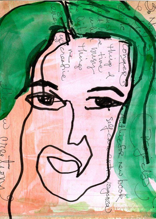 4.Lisa Sonora的《Blind Contour》