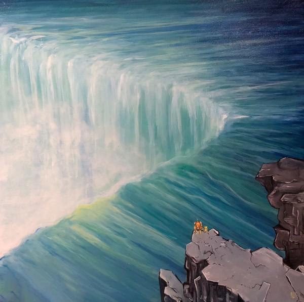 Waterfall by Gabriela Sepulveda