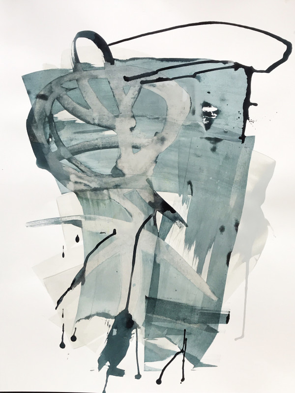 Untitled (Teal) by michela sorrentino