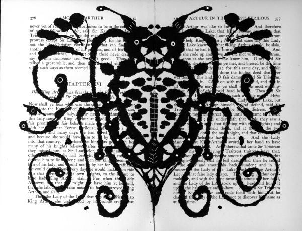 Rorschach: Vampire Beetle by Steffanie Lorig