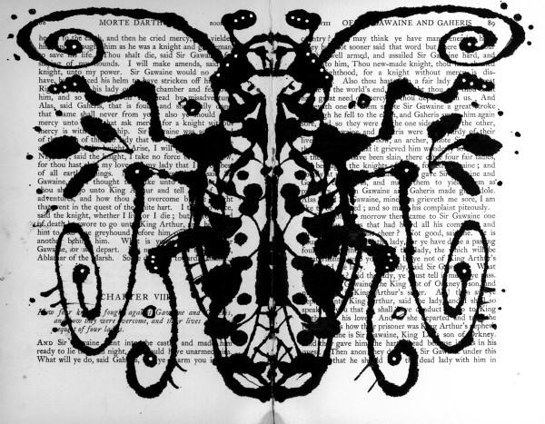 Rorschach: Proboscis Beetle by Steffanie Lorig