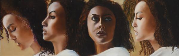 Egyptian Princess Head Study by Carolyn Kleinberger