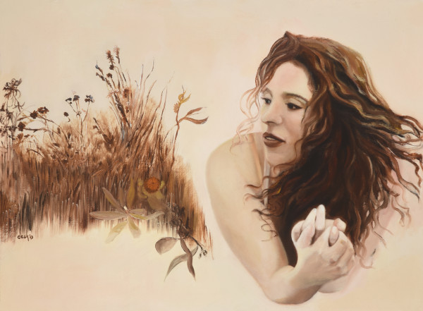 Homage To Wyeth by Carolyn Kleinberger