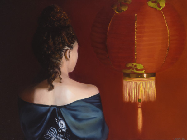 Esther Preparing For Audience With King by Carolyn Kleinberger
