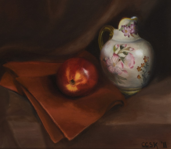 Sylvia's Pitcher by Carolyn Kleinberger