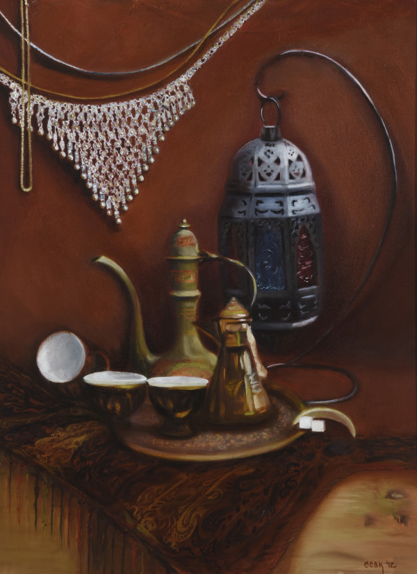 Middle Eastern Market by Carolyn Kleinberger