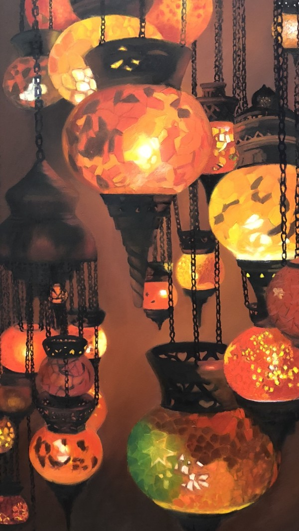 Globes of Light by Carolyn Kleinberger