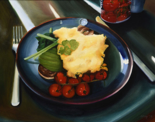 Elegant Breakfast at the Drake Hotel by Carolyn Kleinberger