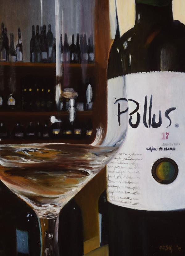 Wine Tasting by Carolyn Kleinberger