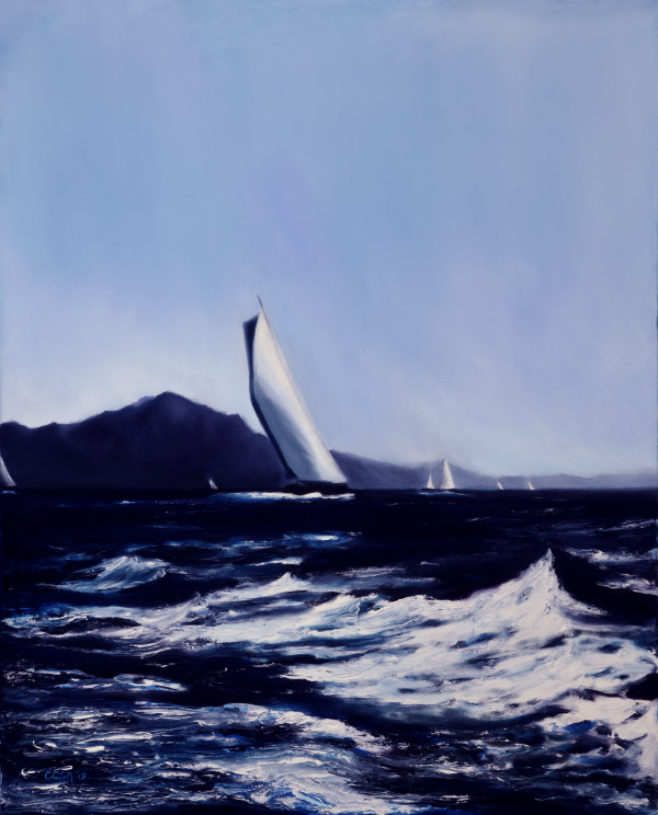 A View of the Regatta by Carolyn Kleinberger