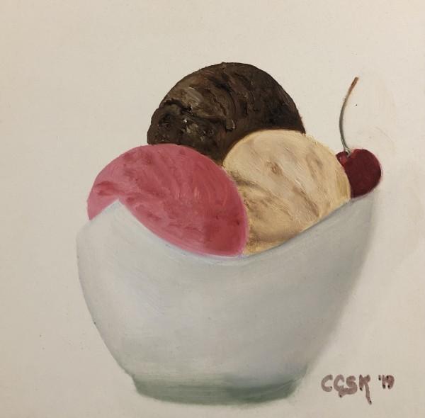 Ice Cream Sundae by Carolyn Kleinberger
