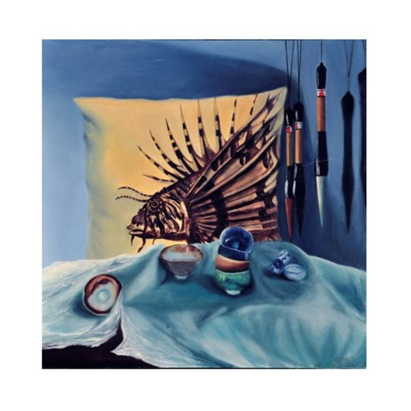 Lionfish Pillow by Carolyn Kleinberger