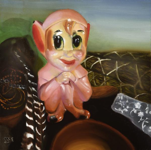 Pink Elf by Carolyn Kleinberger