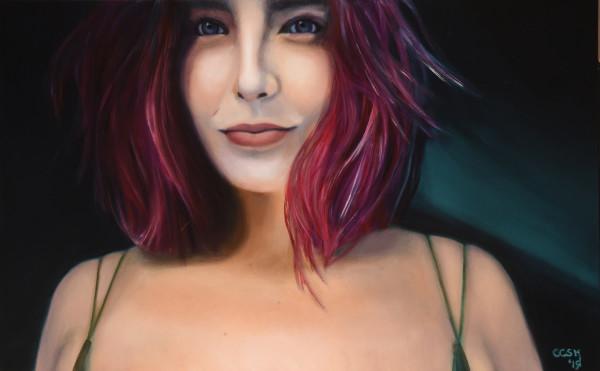 Portrait of Liza by Carolyn Kleinberger