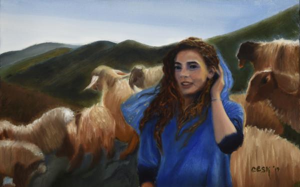 Rachel The Shepherdess by Carolyn Kleinberger