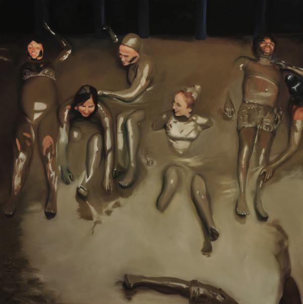 Together In a Mudbath by Carolyn Kleinberger