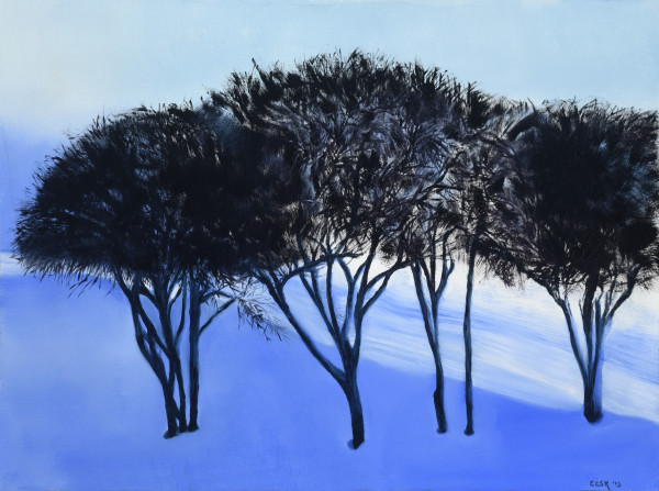 Winter Trees I by Carolyn Kleinberger
