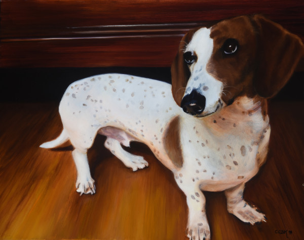 Hafuz, The Younger Canine by Carolyn Kleinberger
