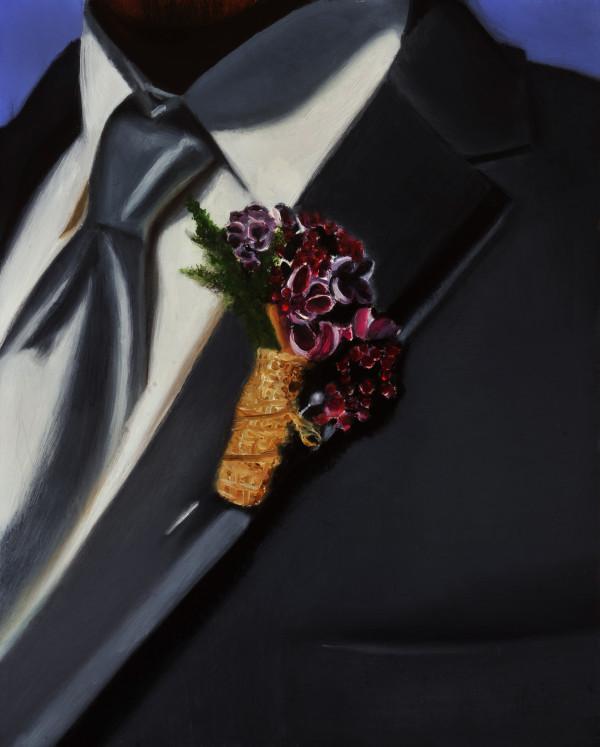 Wedding Boutonniere by Carolyn Kleinberger