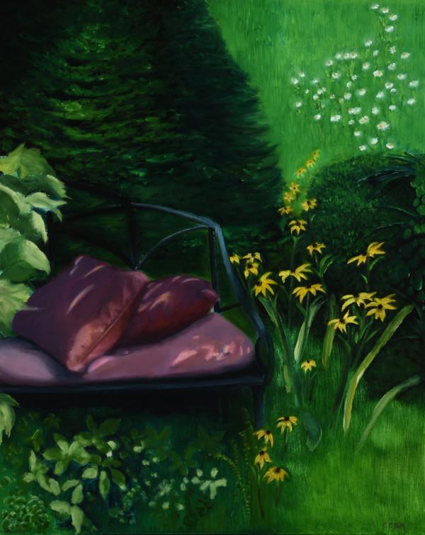 Garden Settee by Carolyn Kleinberger