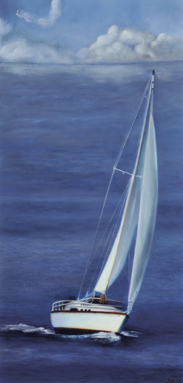Sailing In Winona by Carolyn Kleinberger