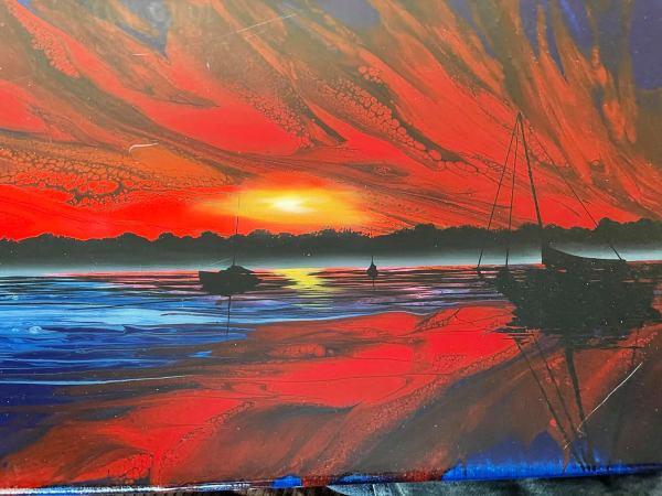 Sunset Sail by Ashton Howard