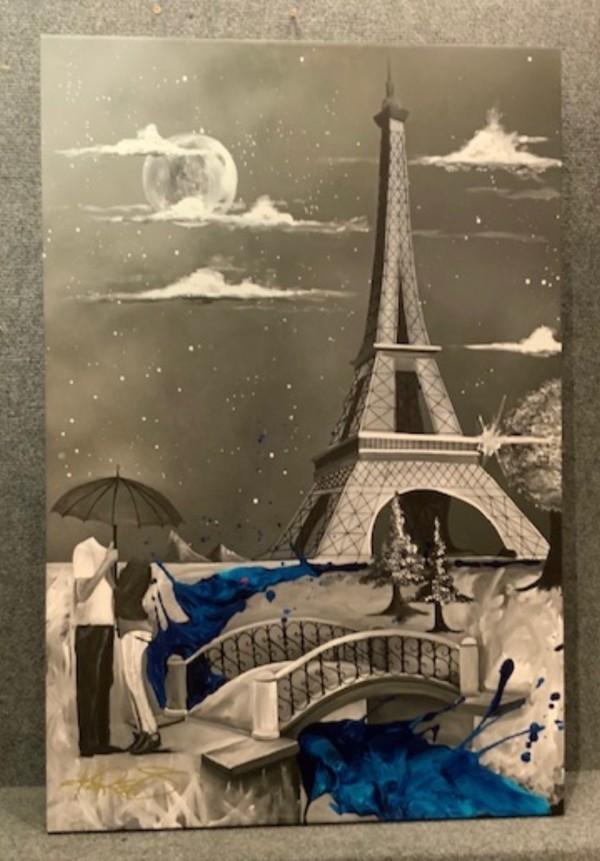 """Beautiful Night in Paris by Kevin """"Kre8"""" Vigil"""