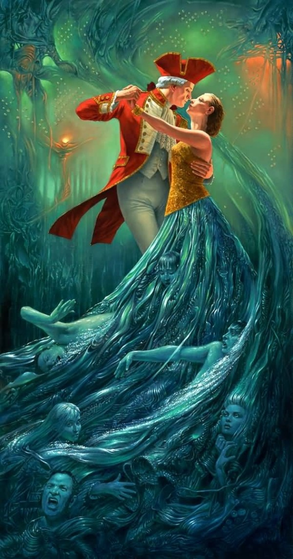 The Tempest by Michael Cheval