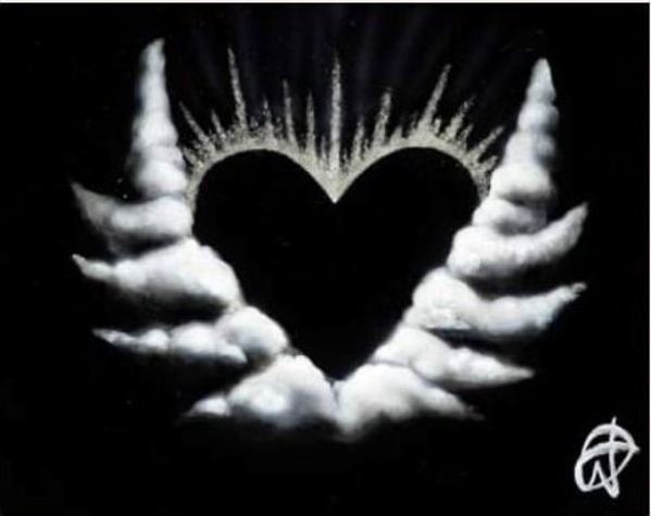 Black Heart (Small) by Michael Godard
