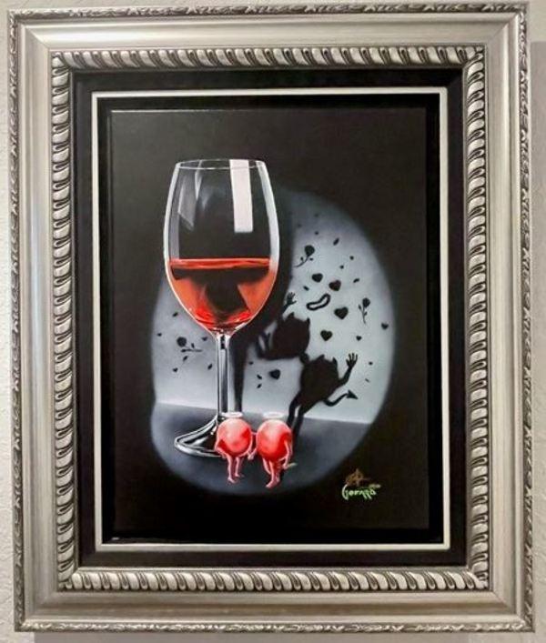 She Devil Red Wine by Michael Godard