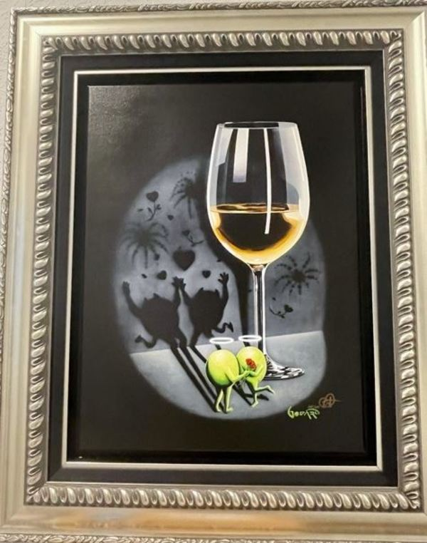 She Devil White Wine by Michael Godard