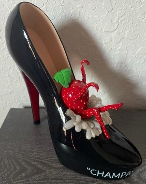 Champagne Shoe by Michael Godard