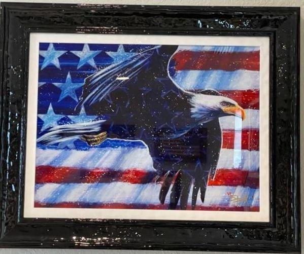 Proud American by Stephen Fishwick
