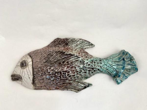 Raku fish by Mariana Sola