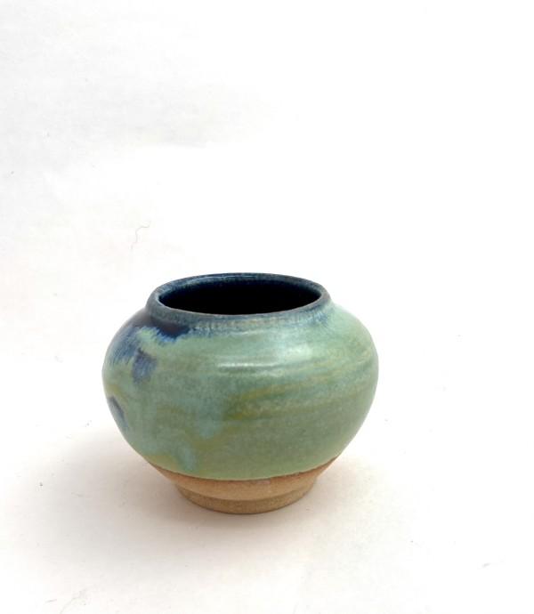 Deep Blue Bowl by Mariana Sola
