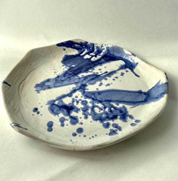 Splattered plate by Mariana Sola