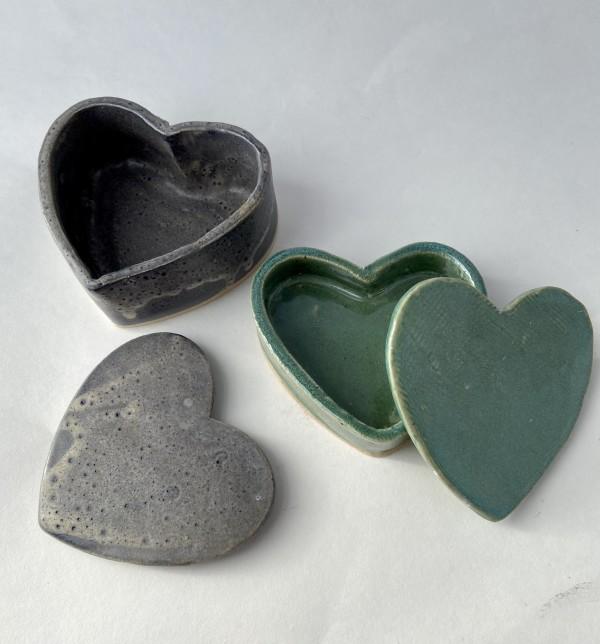 Heart boxes by Mariana Sola