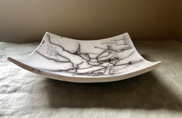 Square Plate by Mariana Sola