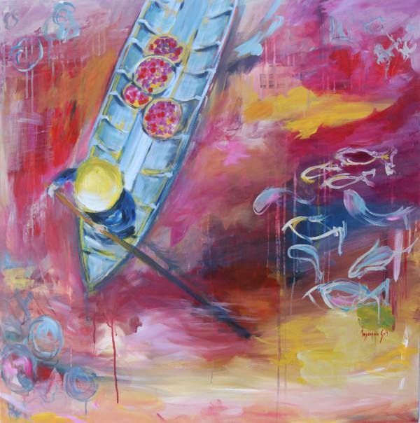 To the market by Mariana Sola