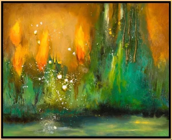 Sun Forest 4 by Leslie Neumann