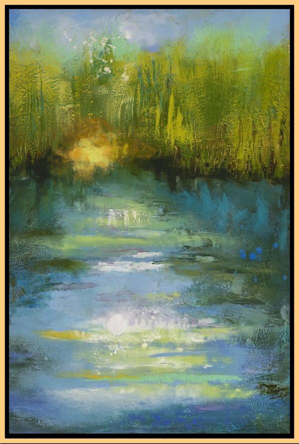 Reflections 48, Sunday Morning Kayak by Leslie Neumann