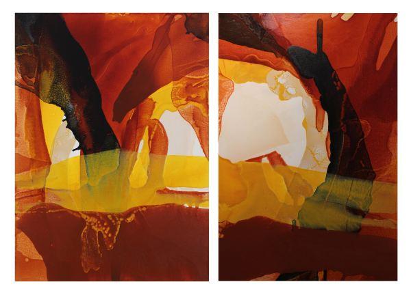 Iron Oxide Hills by Linda Celestian