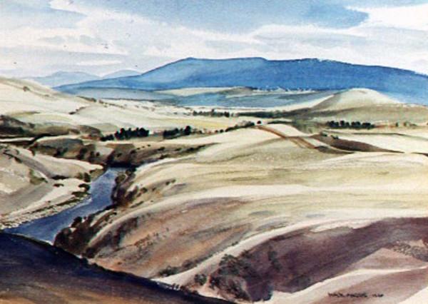 Tasmanian Landscape by Max Rupert ANGUS