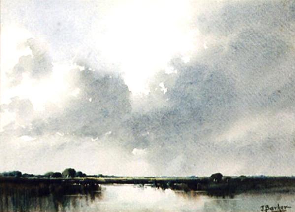 Marshland Near Albany by John BARKER