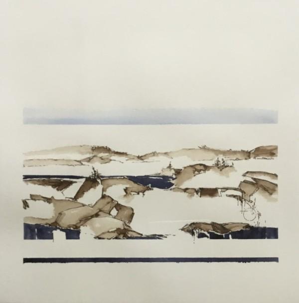 Inland Pond by Barbara Houston