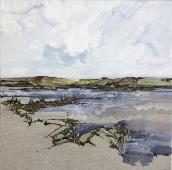 Inland Pond Series IP43-48 by Barbara Houston