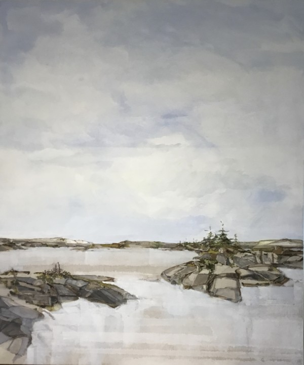 Inland Pond IP 43-43 by Barbara Houston