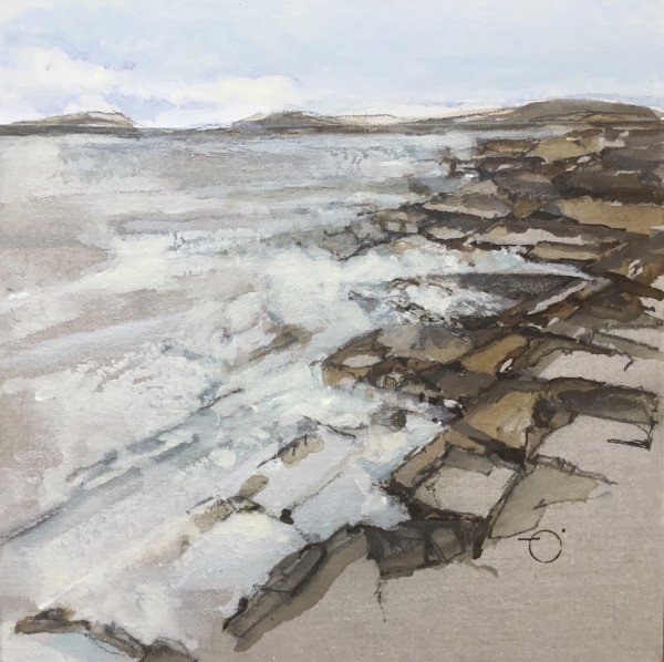 Water's Edge 9 (Amherst Cove) by Barbara Houston
